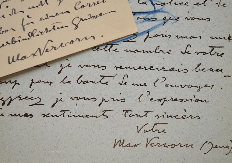 Max Verworn promet une communication sur le courant galvanique.. Max Verworn (1863-1921) Physiologiste allemand. Grand défenseur de la physiologie ...