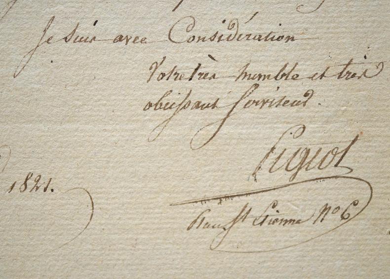 François Pigeot gravera bientôt la planche qui lui a été commandée.. François Pigeot (1775-18) Graveur, élève d'Eustache-Hyacinthe Langlois, il grave ...