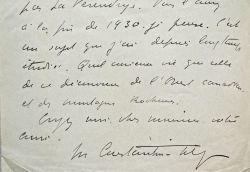 Intéressante correspondance littéraire du prix Goncourt, Maurice Constantin-Weyer.. Maurice Constantin-Weyer (1881-1964) Romancier, prix Goncourt ...