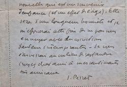 Jacques Perret évoque ses activités littéraires.. Jacques Perret (1901-1992) Écrivain, auteur du Caporal Epinglé, il a mené une vie aventureuse, où se ...
