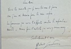Robert Casadesus présente sa nouvelle sonate.. Robert Casadesus (1899-1972) Pianiste et compositeur, ami de Ravel, il joue souvent en duo avec Zino ...