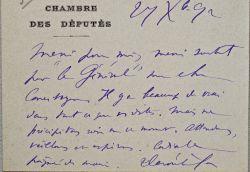 Paul Déroulède pleure sa mère.. Paul Déroulède (1846-1914) Ecrivain et homme politique nationaliste, fondateur de la Ligue des patriotes.