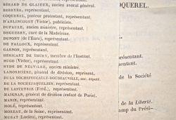 Victor Hugo candidat aux élections législatives de 1849..
