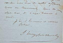 Le Musée des familles cherche à éditer un récit inédit du voyage de Dumont d'Urville.. Samuel Henry Berthoud (1804-1891) Écrivain et journaliste, ...