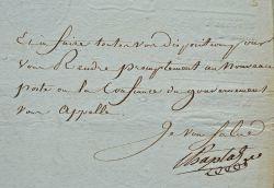 Chaptal nomme un nouveau commissaire du gouvernement à l'île d'Elbe.. Jean Antoine Chaptal (1756-1832) L'un des plus grands chimistes français, ...