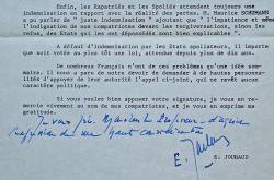 Edmond Jouhaud oeuvre pour l'indemnisation des anciens français d'Algérie.. Edmond Jouhaud (1905-1995) Général d'armée, il participe au putsch ...