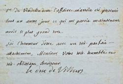 Le duc de Villars fait punir un homme pour violence envers des femmes.. Honoré-Armand, duc de Villars (1702-1770) Gouverneur de Provence et officier ...