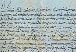 Le pape Pie IX accorde le privilège de dire la messe à un jésuite..