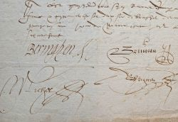 Vente du fief Hullin, au duché de Luxembourg, au début du XVIIe..