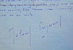 Correspondance de l'écrivain Roland Engerand à son éditeur.. Roland Engerand (1892-1951) Écrivain, il est l'auteur de poèmes, d'essais et de romans. ...