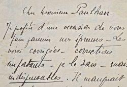 Correspondance de Jacques Porel avec Jacques Rivière et Jean Paulhan.. Jacques Porel (1893-1982) Fils de Réjane et de Porel, il est un écrivain proche ...