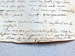 Lettre du pamphlétaire et compagnon de Gracchus Babeuf, Sylvain Maréchal.. Sylvain Maréchal (1750-1803) Écrivain, poète et pamphlétaire, il est l'un ...