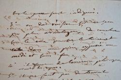 Ordonnance médicale de Joseph Récamier.. Joseph Récamier (1774-1852) Médecin et chirurgien de l'Hôtel-Dieu à Paris. Il est le premier à décrire les ...