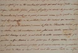 Spirituelle lettre du dramaturge marseillais Etienne-François de Lantier.. Étienne-François de Lantier (1734-1826) Écrivain et dramaturge, il brille ...