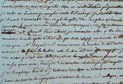 Longue lettre du mathématicien et littérateur Jean-Louis Boucharlat.. Jean-Louis Boucharlat (1775-1848) Mathématicien sorti de Polytechnique, il ...