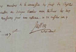 Un costume d'académicien pour Antoine-Laurent de Jussieu.. Antoine Laurent de Jussieu (1748-1836) Botaniste français, directeur du Muséum d'Histoire ...