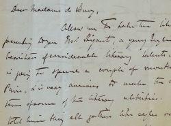 Le ténor Sims Reeves recommande un jeune écrivain à Rose Blaze de Bury.. Sims Reeves (1821-1900) Ténor anglais. Après des débuts prometteurs en ...