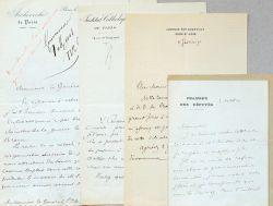 Onze lettres du fondateur de l'Institut catholique de Paris, Monseigneur d'Hulst.. Maurice Le Sage d'Hauteroche d'Hulst (1841-1896) Ordonné prêtre en ...