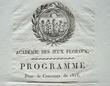 L'académie des Jeux Floraux prépare le concours de 1815..