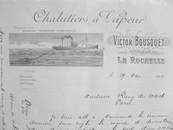 Pêche. Association rochelaise des chalutiers de Bousquet..