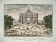 Perspective aquarellée de l'arc de Triomphe..