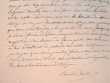 Lettre de la femme écrivain Amable Tastu.. Amable Tastu (1798-1885) Femme écrivain, également auteur de librettos.