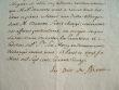 L'abbé de Saint-Pierre de Moissac signe une décharge.. Jean-Louis de Gontaut Biron (duc de) (1692-1777) Abbé commendataire de l'abbaye royale ...