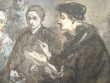 Etude pour le tableau Erasme et Charles Quint..
