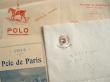 En-têtes du Polo de Paris et du Sporting Club..