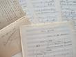 Manuscrit musical de Laparra sur un poème de Baudelaire.. Raoul Laparra (1876-1943) Compositeur, premier Grand Prix de Rome (1903), auteur de ...