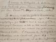 Article manuscrit sur l'Annuaire du bibliophile de 1862..