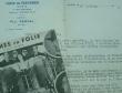 Paul Derval ouvre les coulisses des Folies-Bergère.. Paul Derval (Alexis Pitron d'Obigny de Ferrière dit) (1880-1966) Comédien et producteur de ...