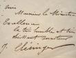 Clésinger félicite le nouveau ministre des Finances, Achille Fould.. Jean Baptiste Clésinger (1814-1883) Sculpteur, gendre de George Sand.