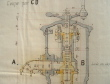 Dessin original des bornes fontaine du P.L.M..
