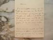 Louis-Aimé Martin demande une rectification de comptes.. Louis-Aimé Martin (1781-1847) Disciple de Bernardin de Saint-Pierre, dont il épouse la veuve, ...