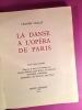 La danse à l'Opéra de Paris. VAILLAT, Léandre