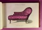 Le Magasin de Meubles ; Album de sièges n°7, Album de tentures n°9. QUETIN, Victor
