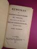Mémoires de Frédérique Sophie Wilhelmine, Margrave de Bareith, soeur de Frédéric Le Grand ; écrits de sa main.. WILHELMINE, Frédérique Sophie