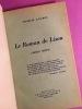 Le Roman de Lison [envoi de l'auteur]. DUCROS, Charles.