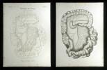 Pulsadern des Darms - Arteria mesenterica superior.. Oesterreicher, Johann Heinrich (1805-1843):