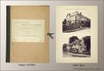 Photographische Reise-Aufnahmen. Eine Sammlung architektonisch wertvoller Motive und Details von alten und neuen Bauwerken aus England und Frankreich ...