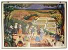 Kaffeeplantage - Plantation de café - Piantagione di caffè - Coffee-Plantation.. Bovée, Paul (1931-1961):