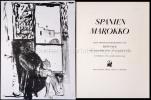 Spanien Marokko. Acht Originallithographien von Hans Falk und Tagebuchblätter von Charlotte Falk. Einführung von Alfred Hoefliger.. Falk, Hans und ...