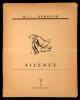 Silence.. Barraud, Maurice: