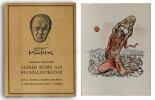 Alfred Kubin als Buchillustrator.. Kubin.- Horodisch, Abraham: