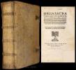Biblia Sacra. utriusque Testamenti, et vetus quidem post omnes omnium hactenus aeditiones, opera D.Sebast. Munsteri evulgatum...novum vero ... ad ...