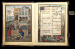 Flämischer Kalender. Clm 23 638, Bayerische Staatsbibliothek, München.. Flemish Calendar. Calendrier flamand Bening, Simon: