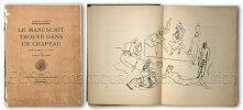 Le manuscrit trouvé dans un chapeau.  Orné de dessins à la plume par Pablo Picasso.. Picasso. -  Salmon, André: