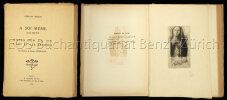 A soi-même. Journal (1867-1915). Notes sur la vie, l'art et les artistes. Introduction de Jacques Morland.. Redon, Odilon: