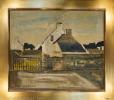 La Bretagne. -  Bretonische Häuser.. Borgeaud Georges; (1914 – 1998).